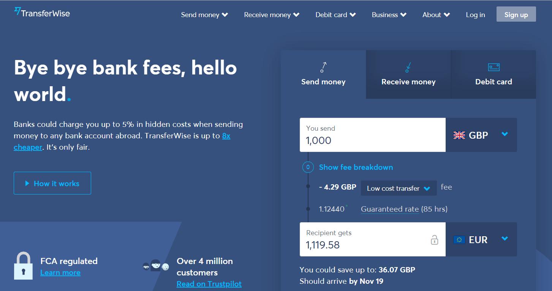 TransferWise - cum sa iti deschizi cont