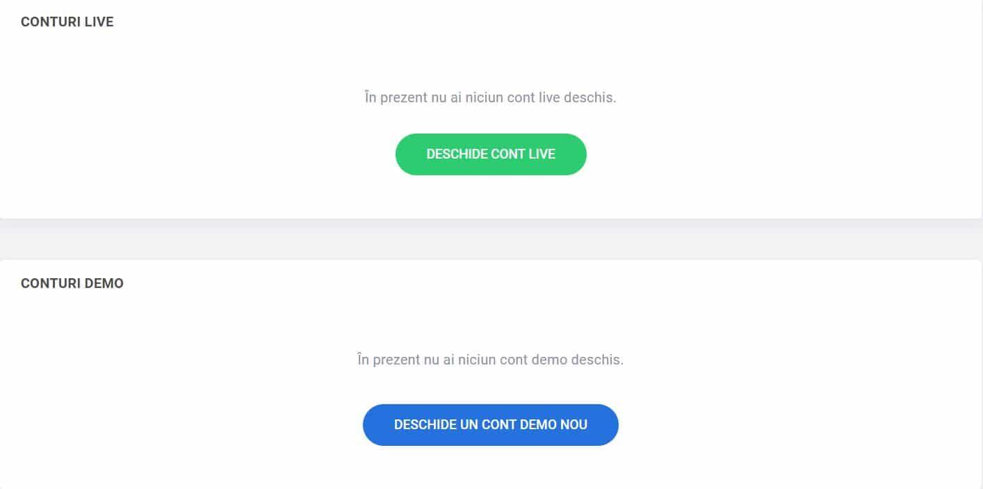 completează contul demo