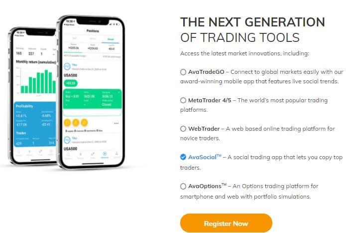 AvaTrade - platforma de tranzactionare